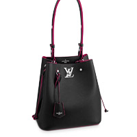 Louis Vuitton NeoNoe LOCKME BUCKET BAG LV Black EPI leather Thumbnail