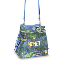 Louis Vuitton NeoNoe jeff koons monet bag LV Thumbnail