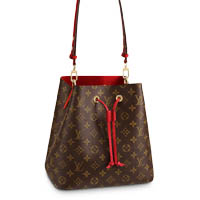 Louis Vuitton NeoNoe monogram Coquelicot Red bag LV Thumbnail