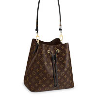 Louis Vuitton NeoNoe monogram bucket bag noir black LV Thumbnail