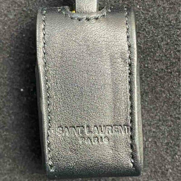 Saint Laurent Moujik Avec Black Bag padlock leather case