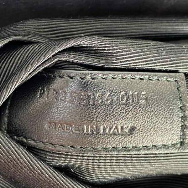 Saint Laurent Moujik Avec Black Bag serial code