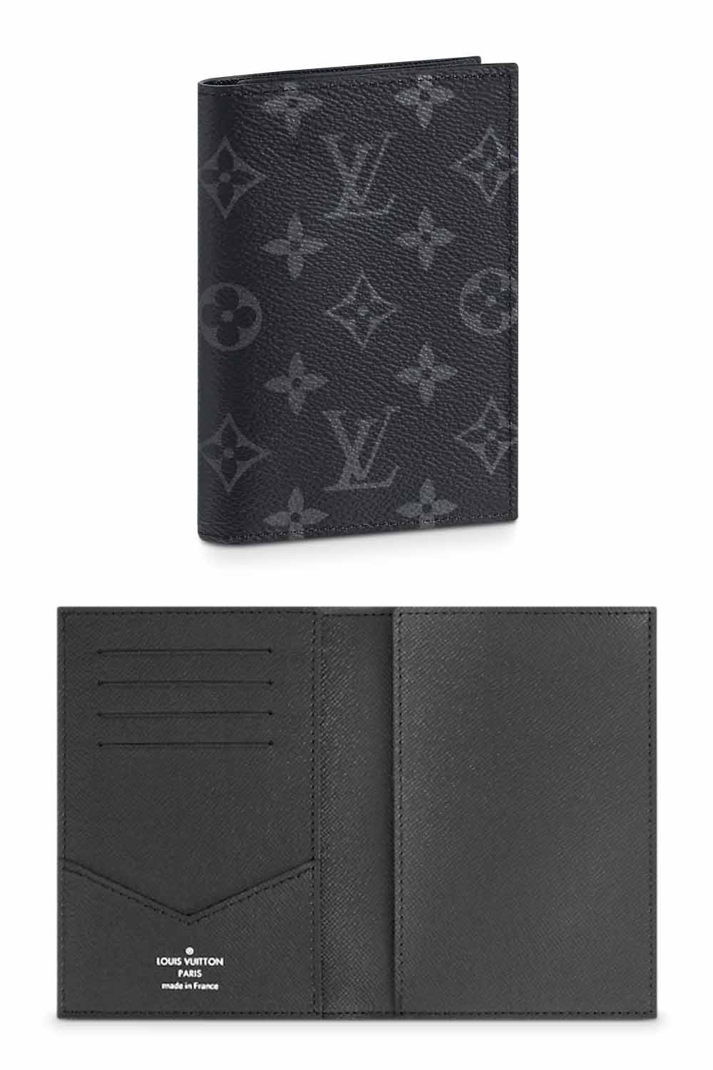 The-best-luxury-gifts-for-her-men-Louis-Vuitton-eclipse-monogram-passport-cover