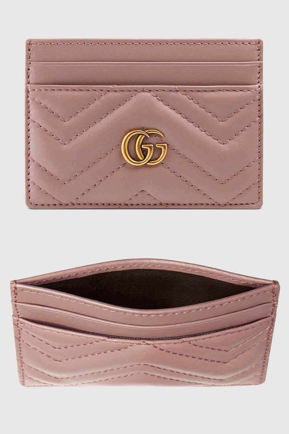 The-best-luxury-gifts-for-her-women-Gucci-Marmont-GG-card-holder-dusty-pink
