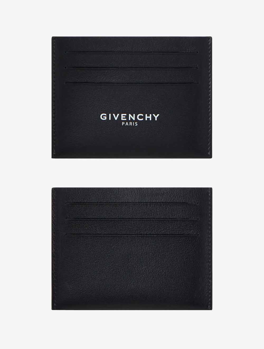 The-best-luxury-gifts-for-men-GIVENCHY-PARIS-Black-CARD-HOLDER-IN-LEATHER