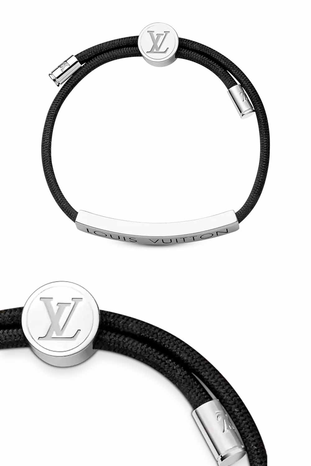 The-best-luxury-gifts-for-men-Louis-Vuitton-LV-SPACE-BRACELET-black-gift