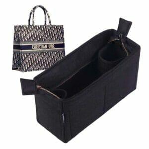 Christian Dior small book tote bag liner organiser
