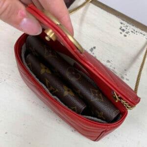 Gucci Super Mini Marmont Bag Handbag Liner inside