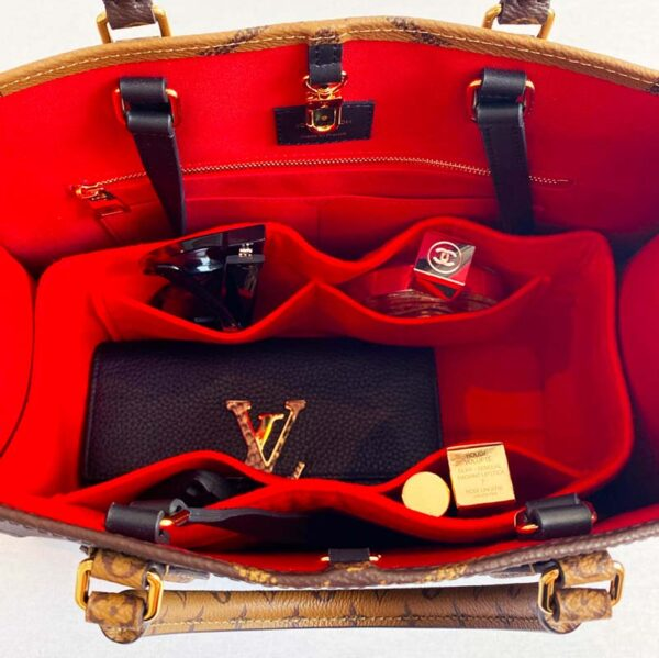 Louis Vuitton OnTheGo GM Tote Bag Liner Felt Organiser