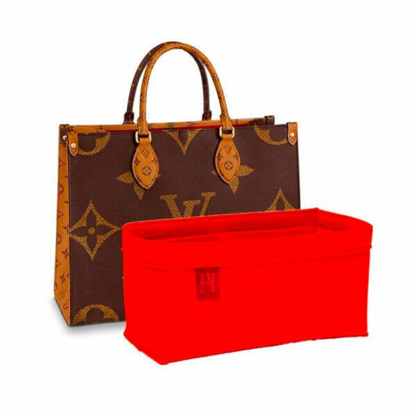 Louis Vuitton OnTheGo MM Tote Bag Liner Felt Handbag Angels Bagliner Organiser