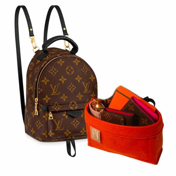 Louis Vuitton Palm Springs Mini Backpack Bag Liner Felt Handbag Angels Bagliner Organiser