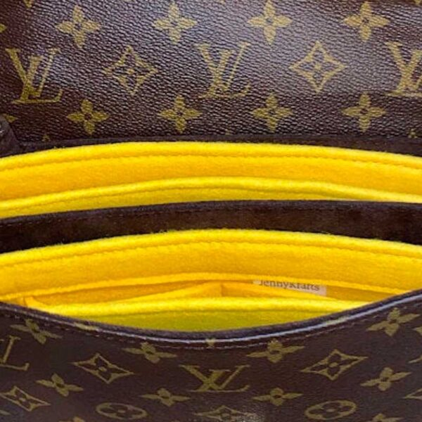 Louis Vuitton Pochette Metis Handbag Liner two organisers