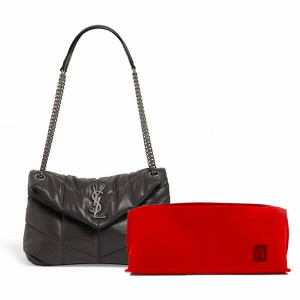 Saint-Laurent-LouLou-Medium-Puffer-Handbag-Liner-By-Handbag-Angels