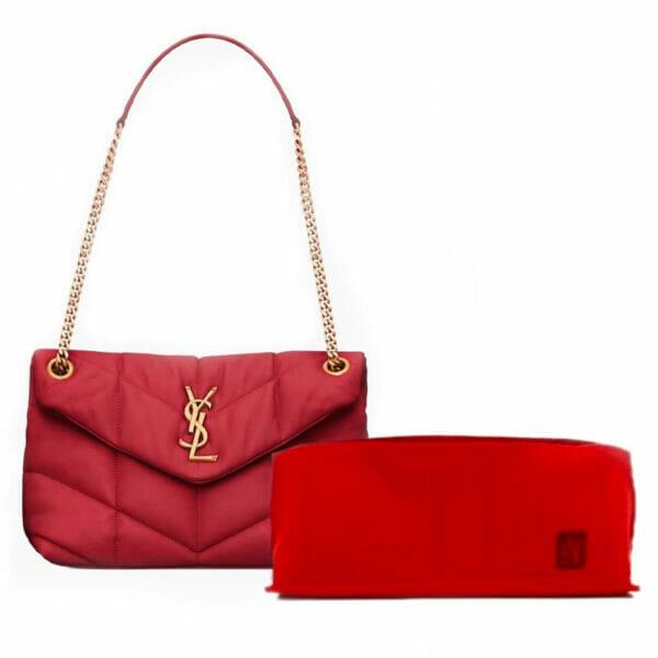 Saint-Laurent-LouLou-Small-Puffer-Handbag-Liner-By-Handbag-Angels