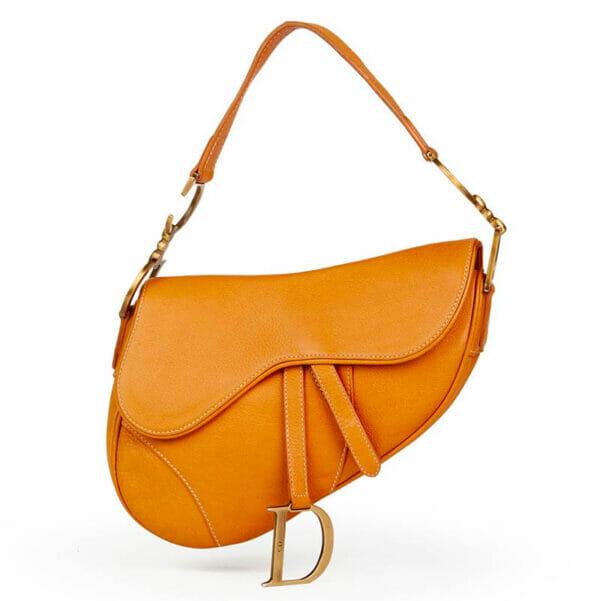 Dior Saddle Bag Tan Camel Gold Hardware MAIN IMAGE