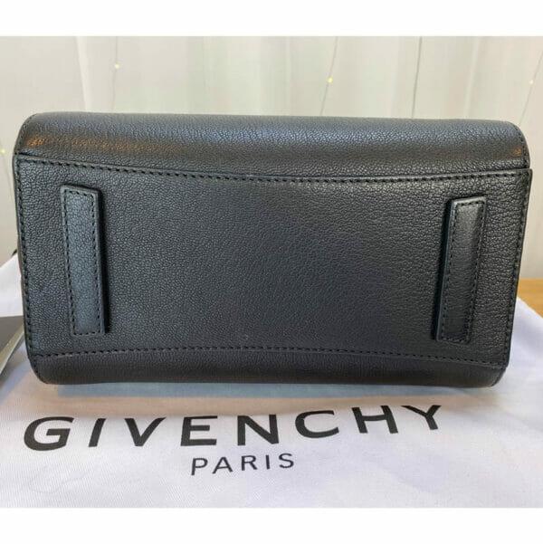 Givenchy antigona mini consignment Emma black calf leather bottom