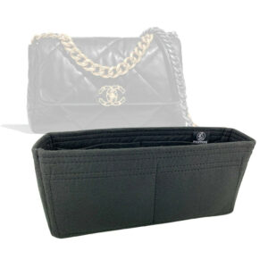 Chanel 19 large flap bag liner organizer handbagholic