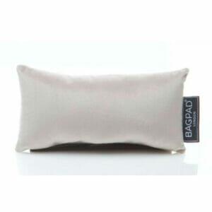 Extra small silver velvet purse pillow