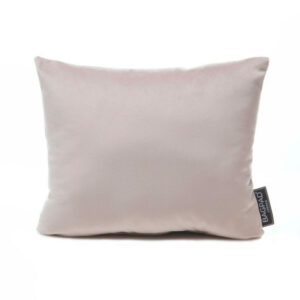Large Silver velvet bag Purse Pillow