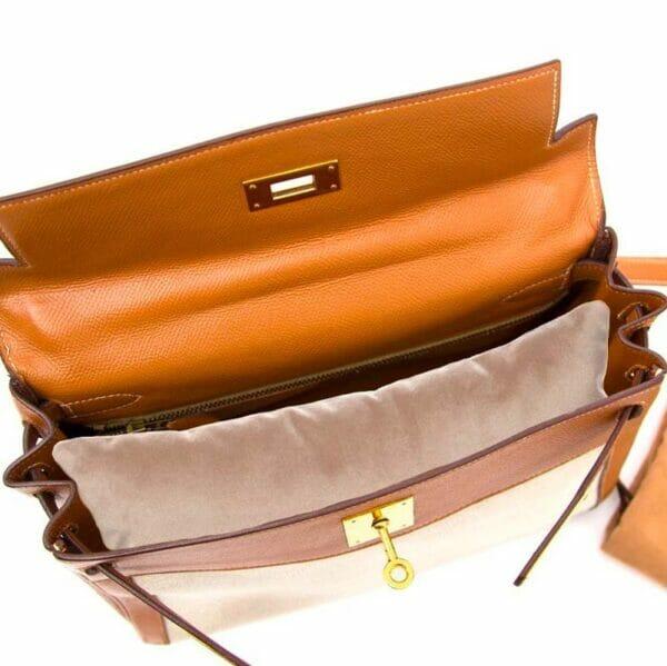 Large Silver velvet bag shaper Purse Pillow In Hermes Kelly bag