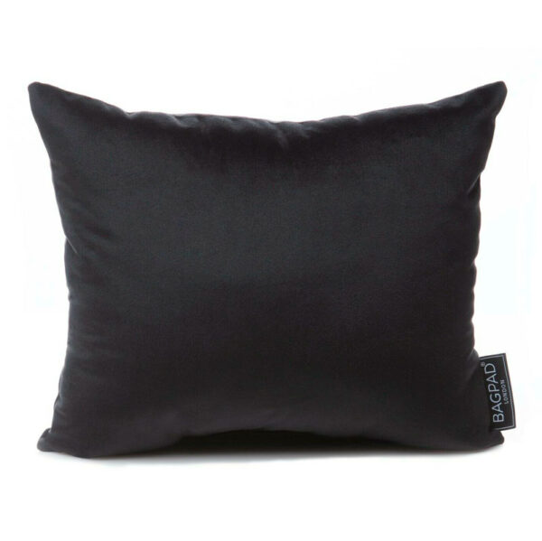 Large black velvet bag Purse Pillow