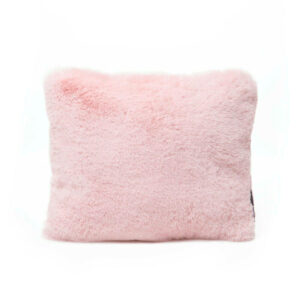 Medium pink faux fur bag Purse Pillow