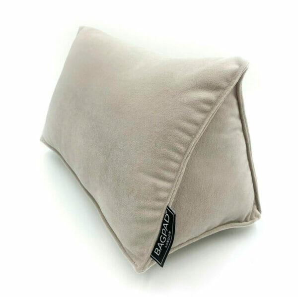 Medium silver shaper bag Purse Pillow