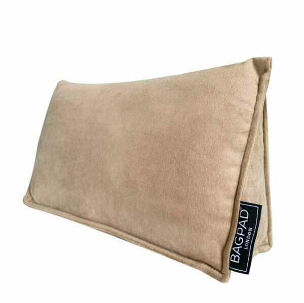 Nude large velvet bag shaper Purse Pillow