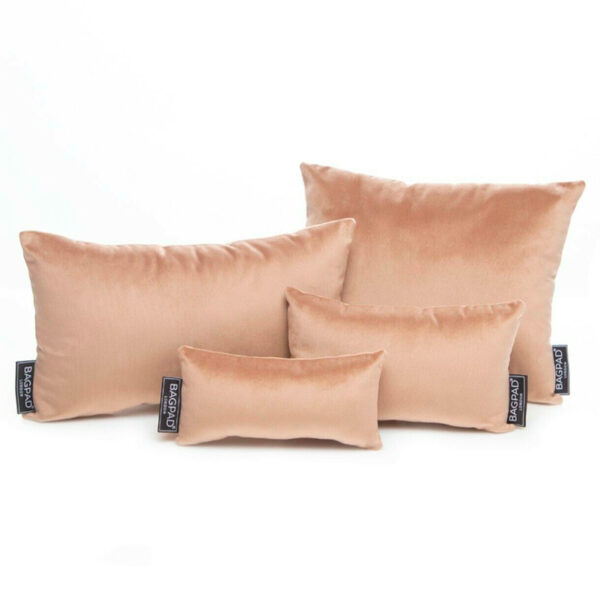 Set of 4 nude sand designer bag pillow for purse handbag