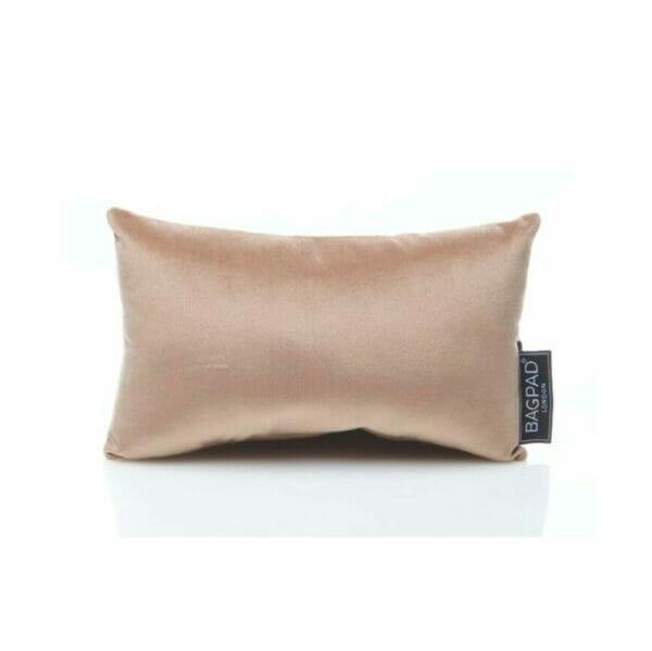 extra small nude velvet purse pillow