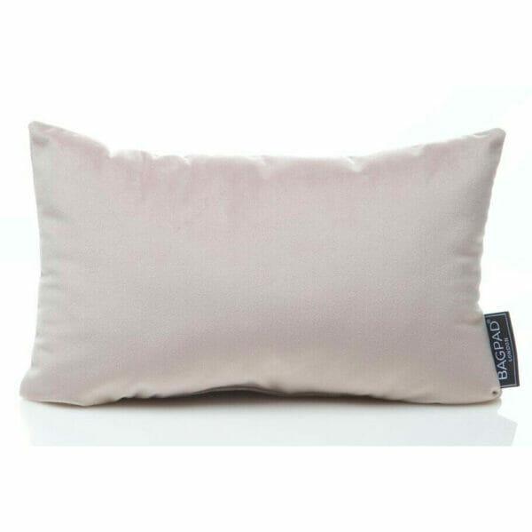 medium luxurious Silver velvet bag Purse Pillow