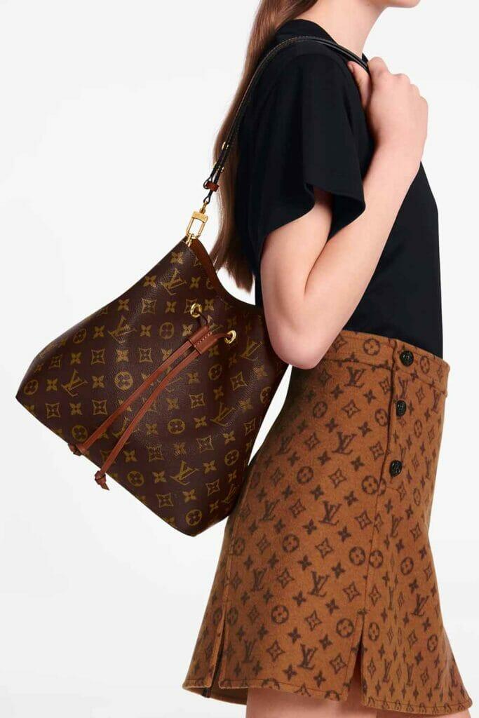 Louis Vuitton NeoNoe bucket bag good first designer bag