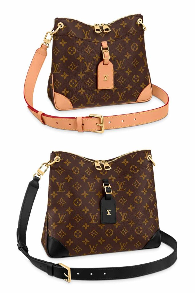 Louis Vuitton LV Odeon crossbody bag PM and MM size